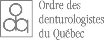 Logo et nom de l'Ordre à ses côté en gris