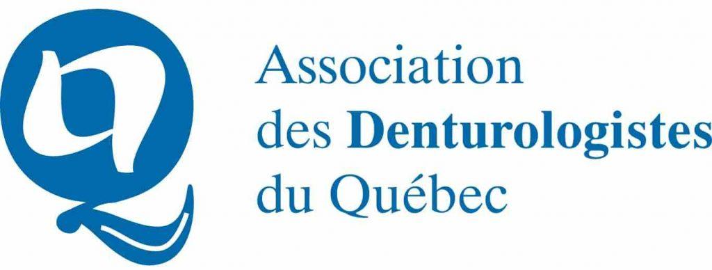 Logo et le nom de l'Association à ses côtés en bleu